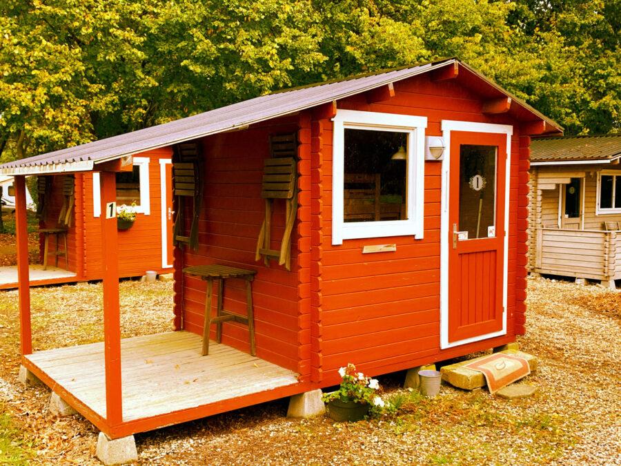bunk bed hytte