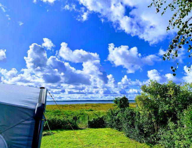 campingplads ved fjorden
